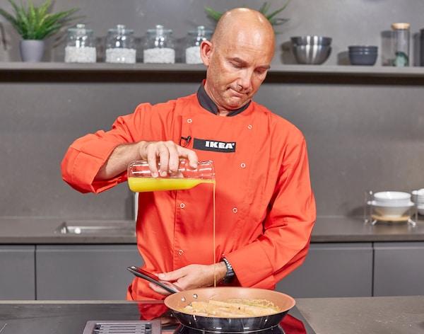cómo hacer salsa de naranja