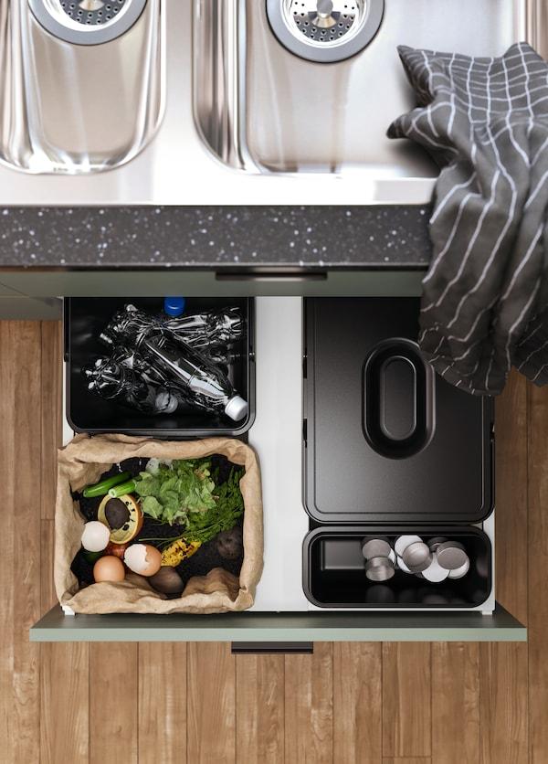 Cómo reciclar bien en casa.