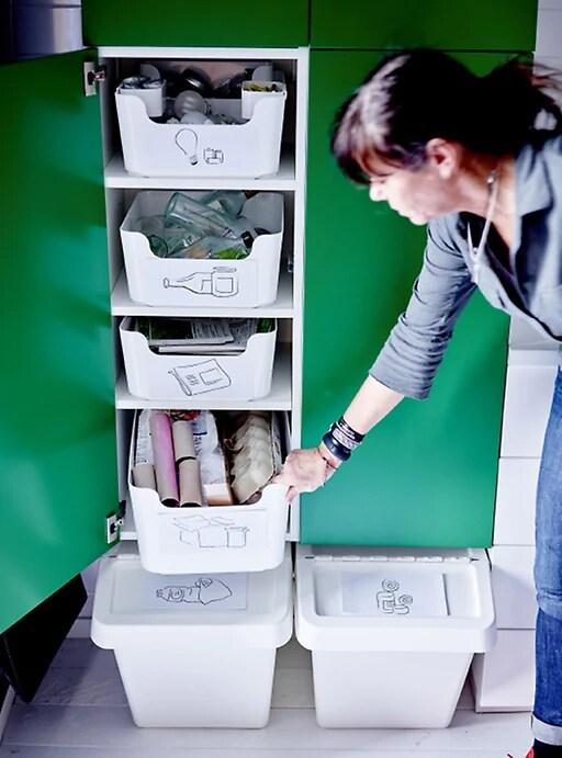 contenedores de reciclaje para casa ikea