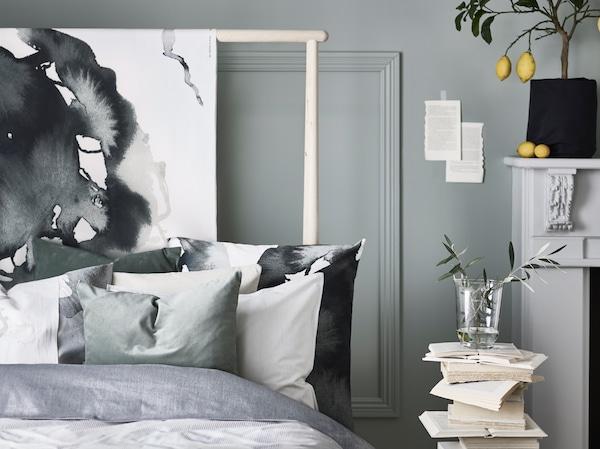 Cómo vestir una cama con cojines y almohadas