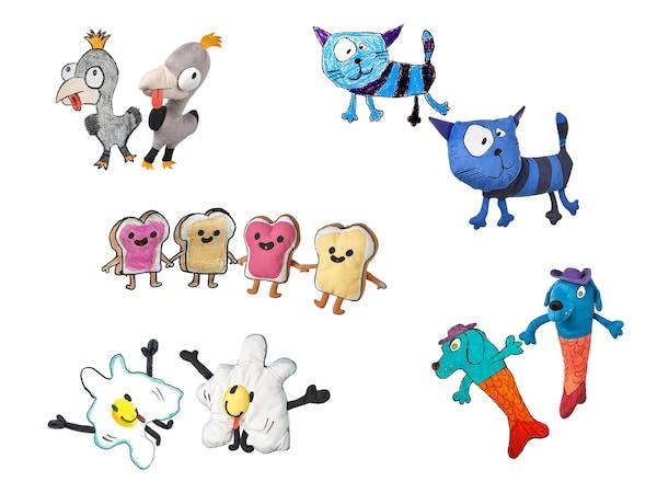Concurs! Desenul copilului tău poate deveni o jucărie de pluș disponibilă pentru vânzare în magazinele IKEA din toată lumea!