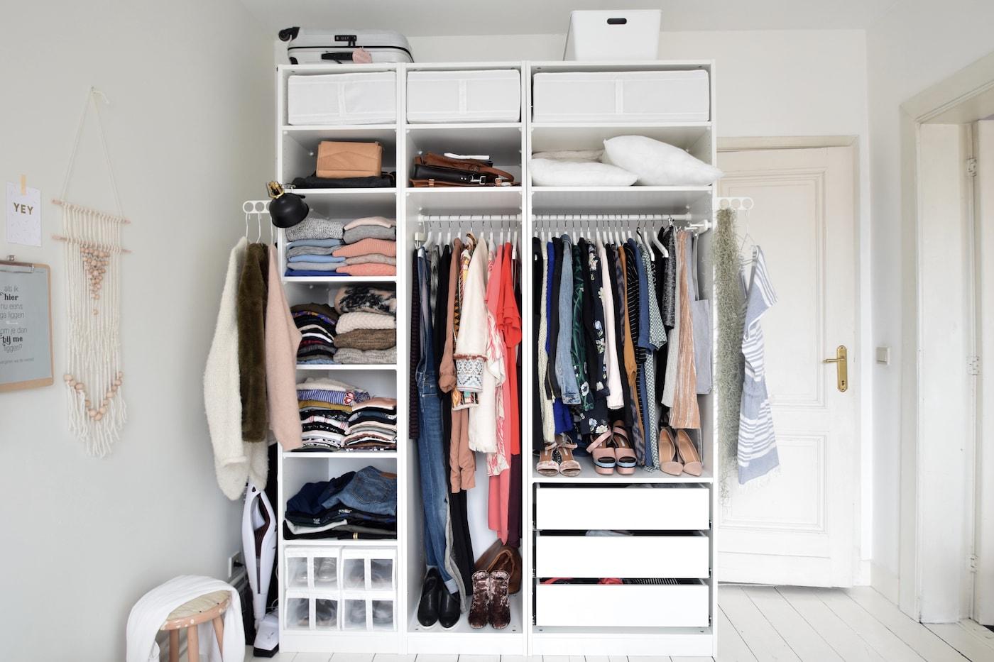 Robe Garde Pour 8pnowk0 Une Ouverte Ikea Conseils BhrtCQdsx