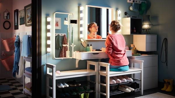 Consejos sobre cómo crear una zona de almacenaje con estilo en el recibidor para prepararte cada mañana.