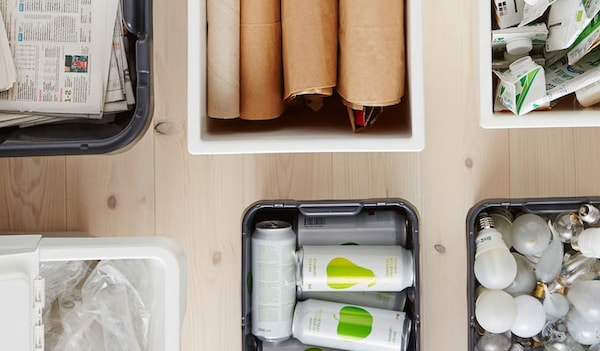 Consigli IKEA per la raccolta differenziata e la prevenzione dei rifiuti