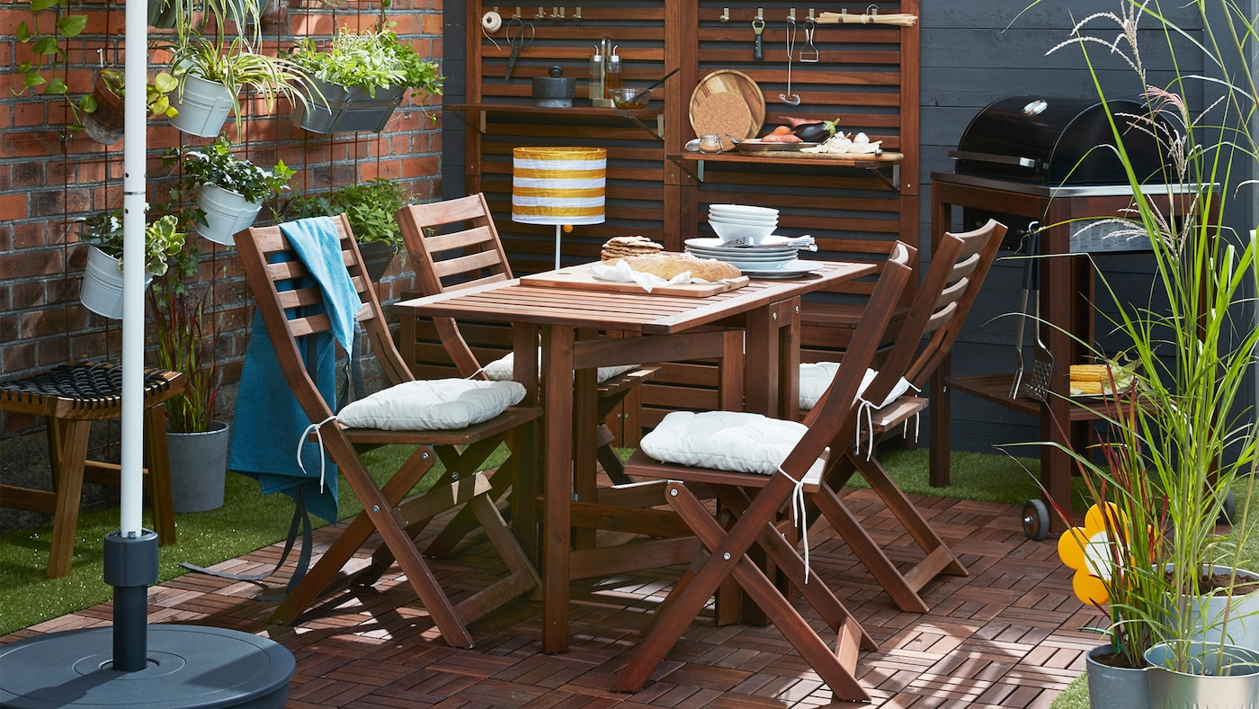 Garden & balcony furniture inspiration - IKEA