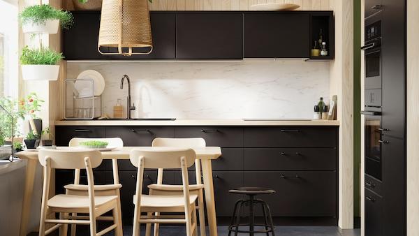 Cozinha KUNGSBACKA em antracite