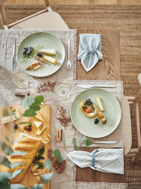 Cozinhar e à mesa