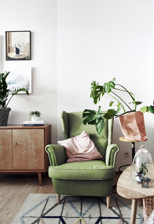 Create a cosy spot for relaxing and reading.