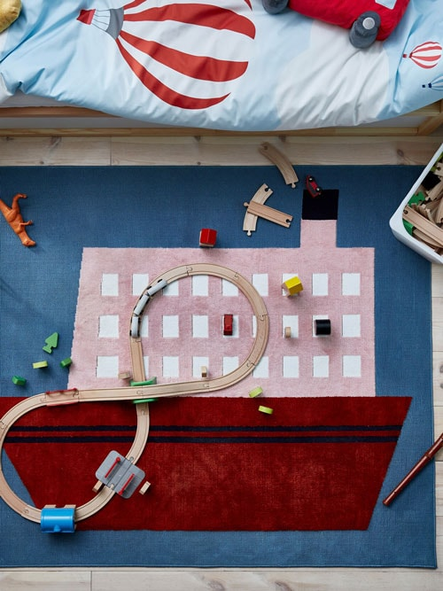Create a playful room for kids.