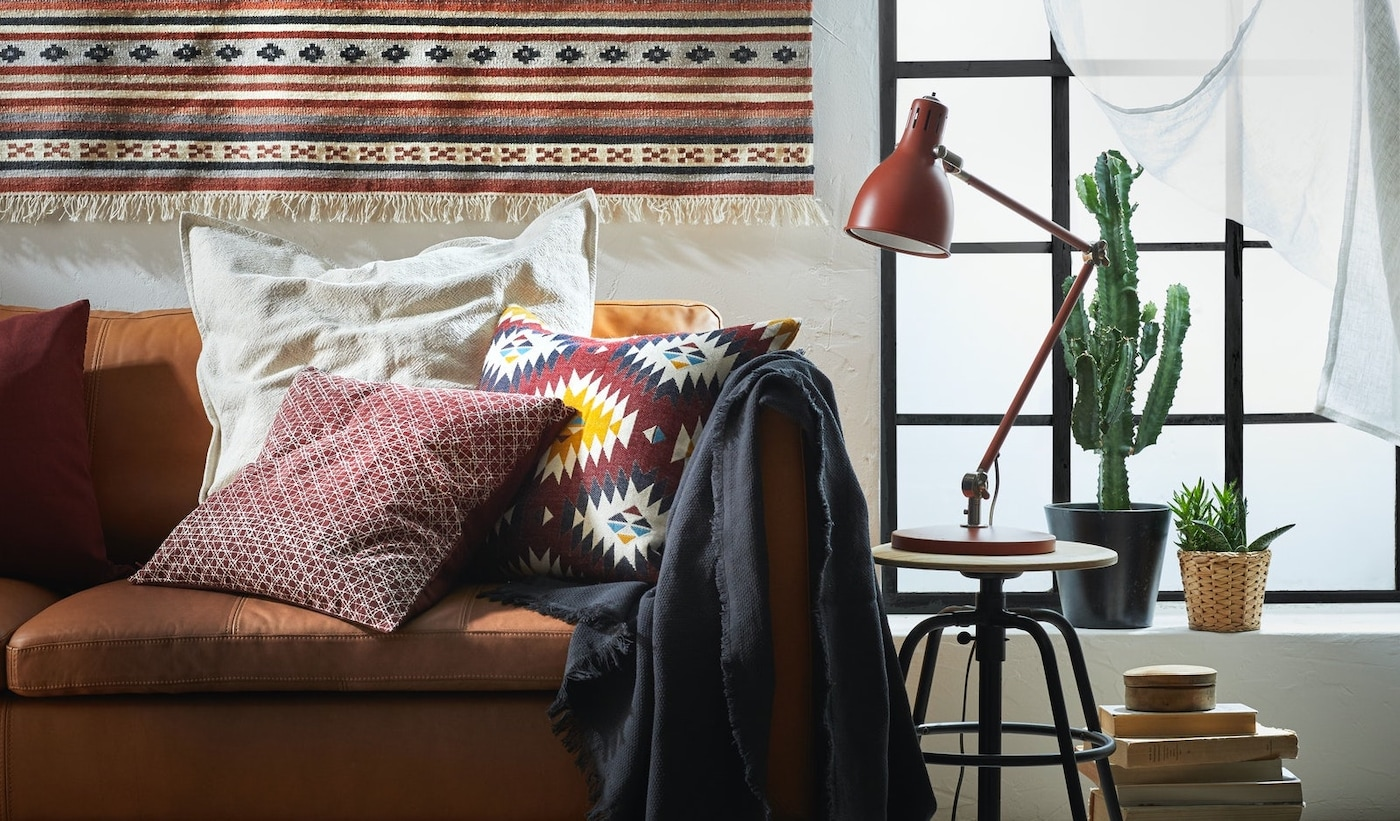 Create affordable and sustainable decor with cushions