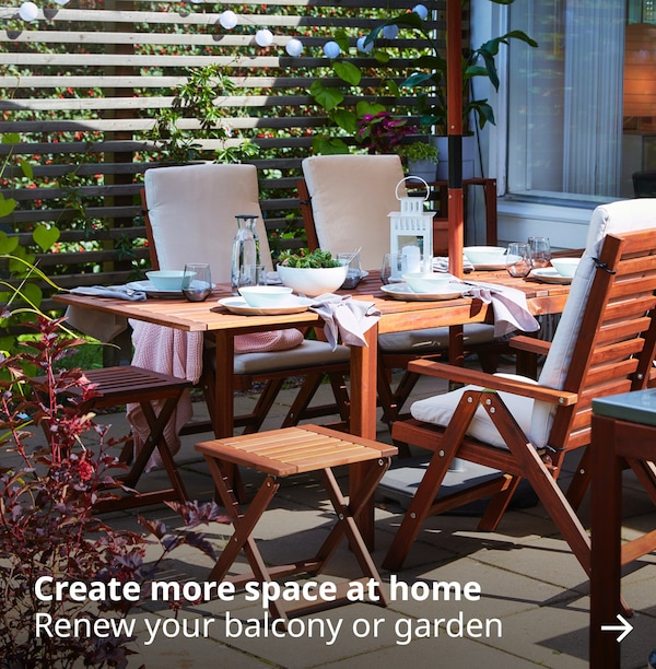 create more space at home renew your balcony or garden