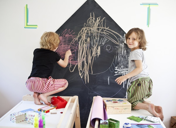Create space for collaboration and play.