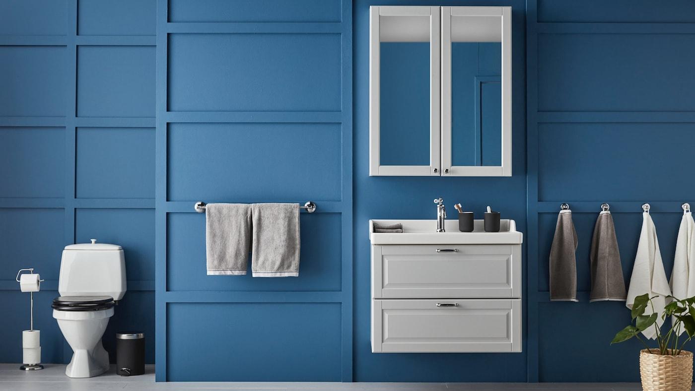 Build your own Vanity Cabinet  Wash Basin - IKEA