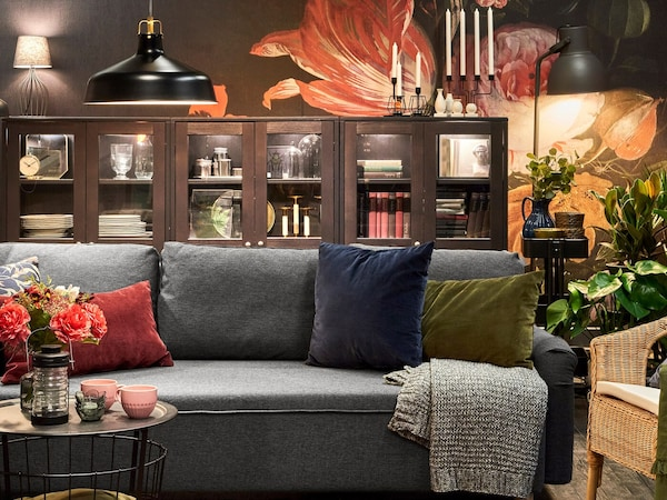 Creating decoratively lit spaces