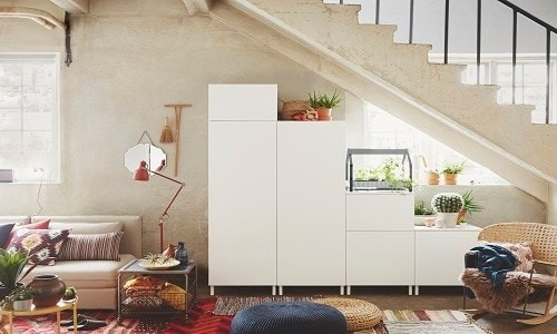 Creative solution with ideal storage - PLATSA planner