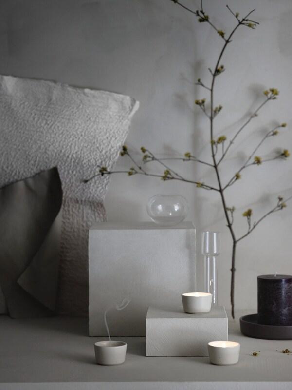 Créez l'ambiance de votre choix grâce à des parfums saisonniers