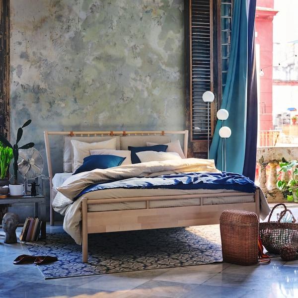 Créez une chambre confortable pour l'été