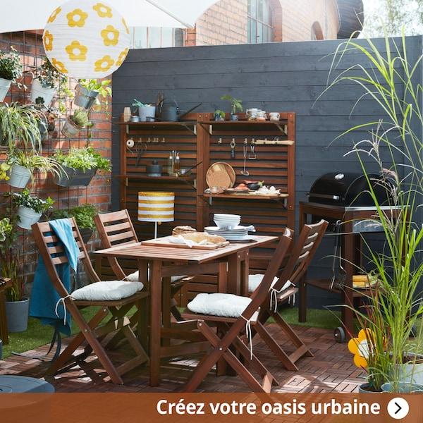 créez votre oasis urbaine