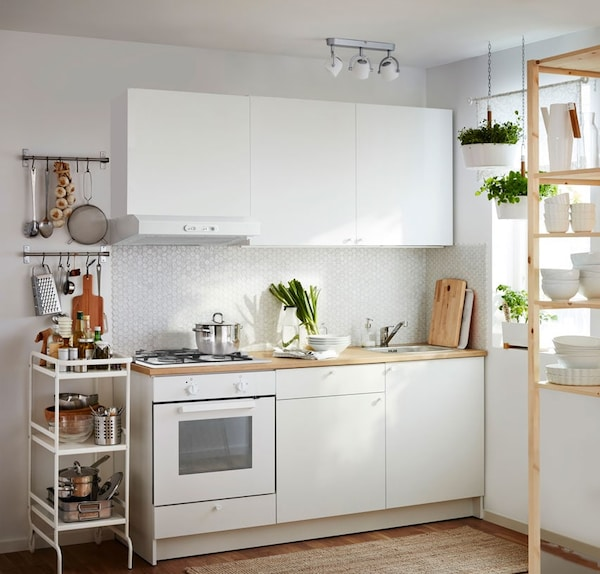 Una cucina completa in soli quattro metri quadri - IKEA
