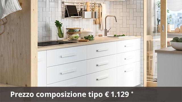 Cucina KUNGSBACKA bianco: design e sostenibilità IKEA IT