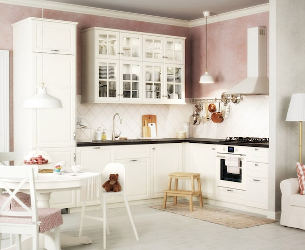 Misure Cucine Componibili Ikea.Cucina Componibile Bodbyn Bianco Ikea