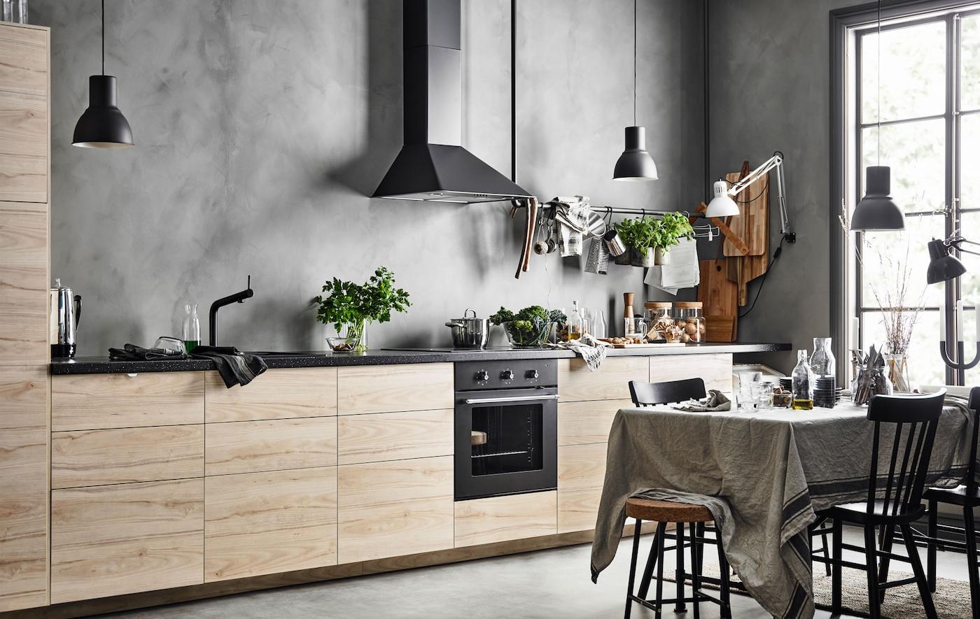 Come Progettare Cucina Ikea consigli dello stilista per la cucina: la progettazione