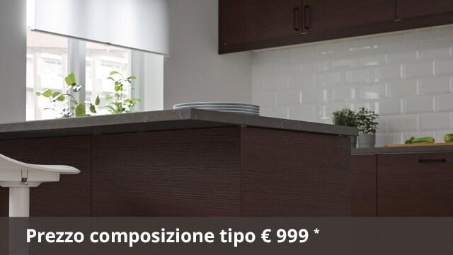 Cucina METOD ASKERSUND marrone scuro- IKEA
