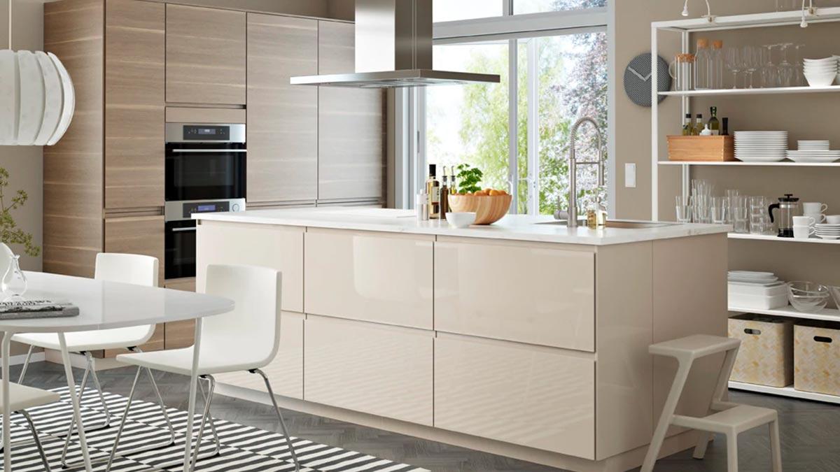 Cucine Ikea 2017 Prezzi design lineare e colori chiari per una cucina moderna - ikea