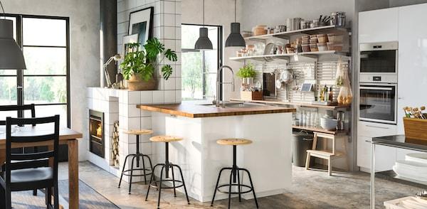 Cucina componibile RINGHULT bianco lucido - IKEA