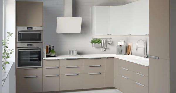 Cucina componibile UBBALT beige - IKEA