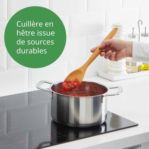Cuillère en hêtre RÖRT avec casserole