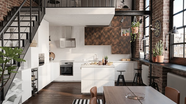 cuisine-IKEA-voxtorp-blanc-bois-fonce