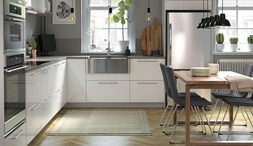 cuisines et lectrom nagers armoires de cuisine ikea. Black Bedroom Furniture Sets. Home Design Ideas