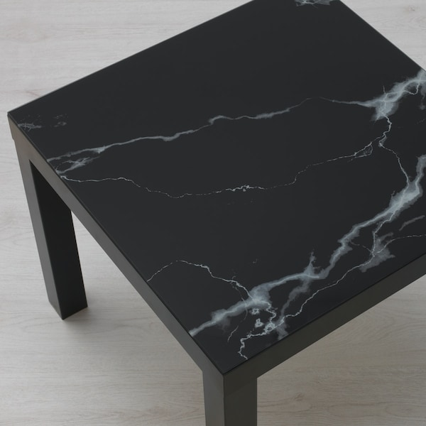 Customise a LACK table with adhesive paper