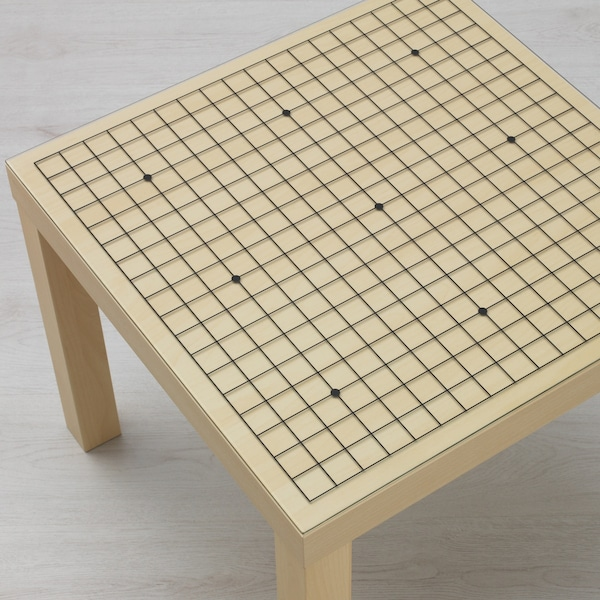 Customise a LACK table with glass