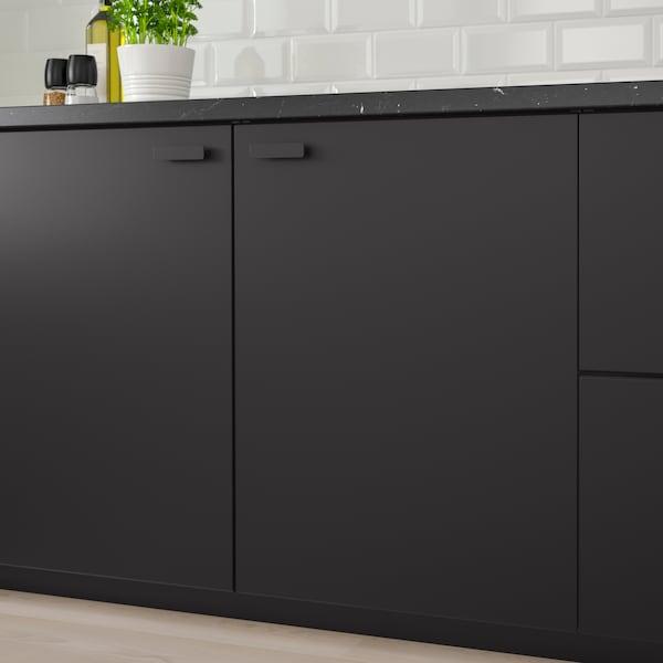 czarne szafki kuchenne stojące