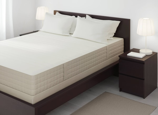 Mattress on MALM bed