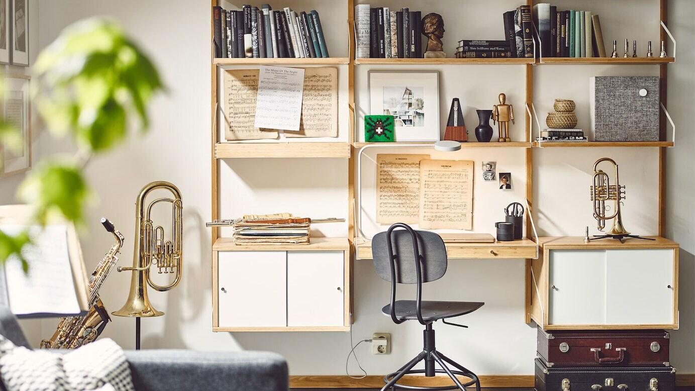 IKEA Ratgeber Home Office mit wenig Platz