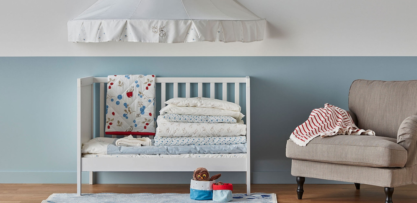 Linking to baby textiles page