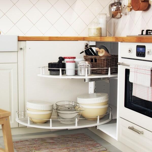 Page finitions cuisine BODBYN blanc cassé - IKEA