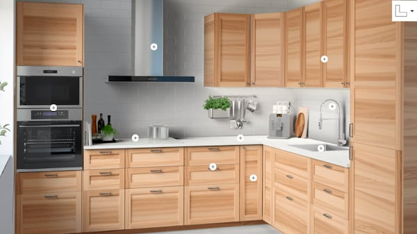 Быстрый планировщик кухни