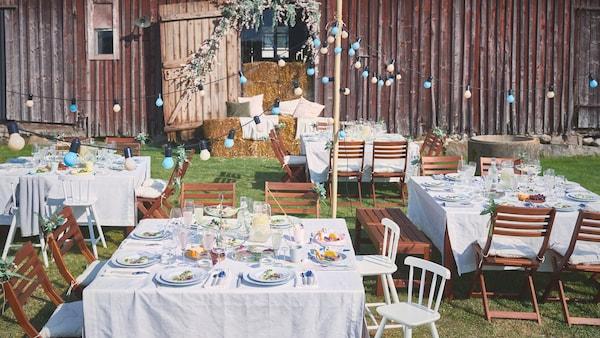 Consello sobre como crear unha mesa inesquecible para a primavera.