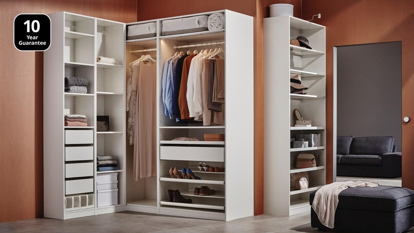 ขั้นตอนการออกแบบและซื้อตู้เสื้อผ้าพักซ์/PAX