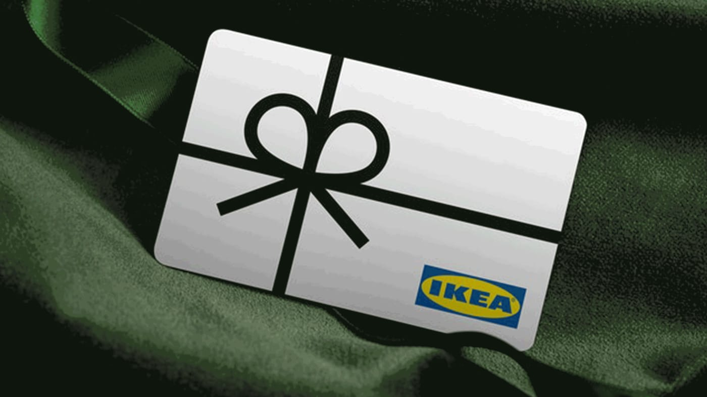 IKEA gifiting presents gift cards