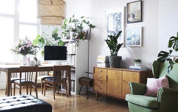 Berliner Stadtwohnung lebendig einrichten - IKEA