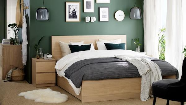 Meuble Chambre A Coucher Adulte Decoration Chambre Ikea