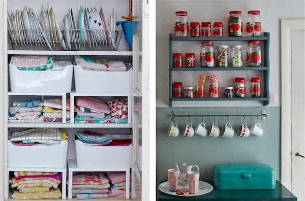 Stauraum in kleinen Küche schaffen: so geht\'s - IKEA