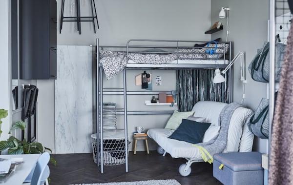 Da IKEA trovi soluzioni di arredamento intelligenti per organizzare un piccolo spazio in modo funzionale e personalizzato