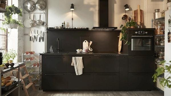 Create an environmentally conscious kitchen