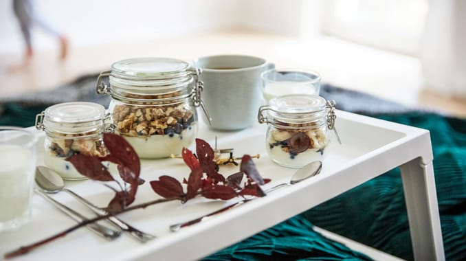 Home visit: try a Mother's Day breakfast in bed